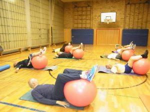 Sport mit Älteren 50 plus