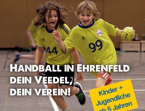 Die Handball Jugendabteilung freut sich auf interessierten Nachwuchs